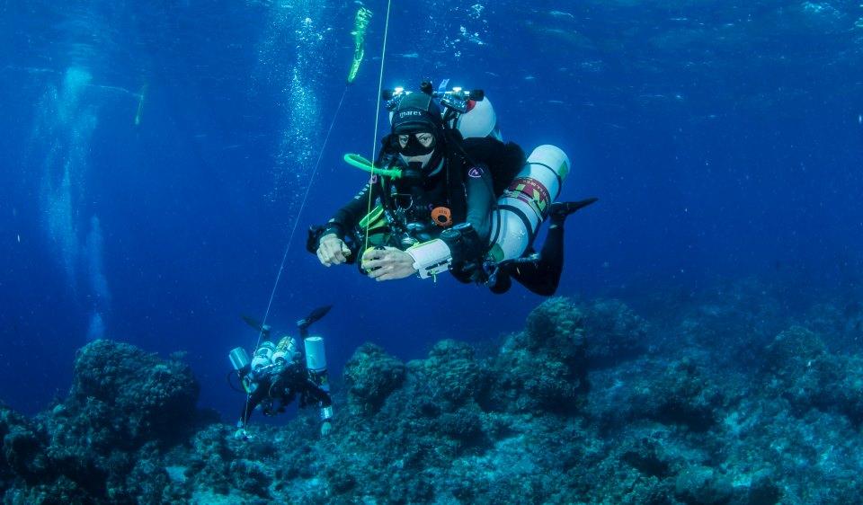 Advanced trimix diver course