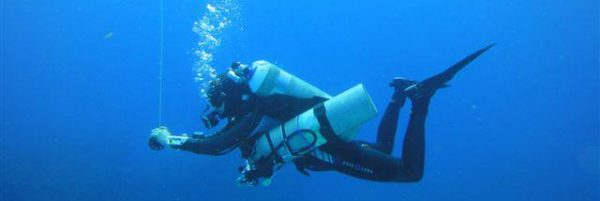 Deep Diving in Cozumel - decompression with Nitrox and oxygen