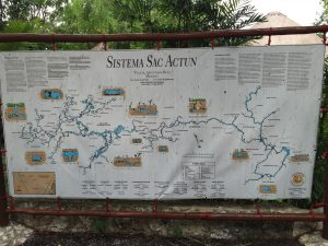 Map of Sac Actun's system