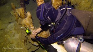 Full cave diving training