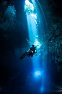 Buceo de Sidemount en el Pit