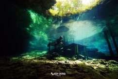 Buceo en caverna