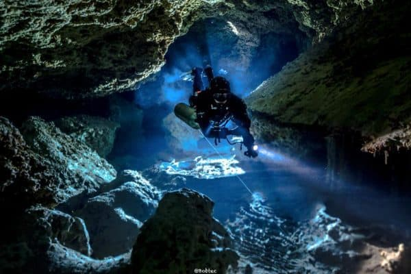 Cave diving Training mexico